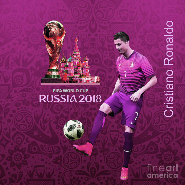 Super Cup Wall Art - Painting - Russia 2018 World Cup  by Gull G