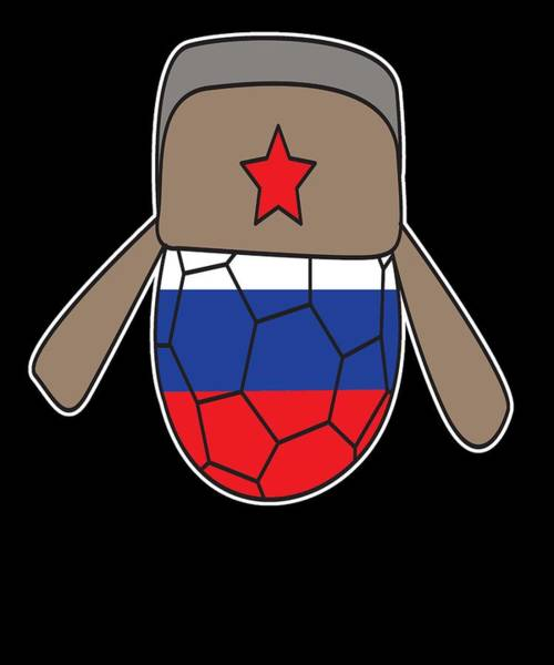 Moscow Mixed Media - Russia Football World Cup Soccer Championship World Champion Ball by Roland Andres