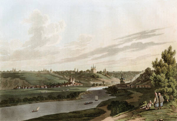 Drawing - Russia, Smolensk, 1816 by Granger