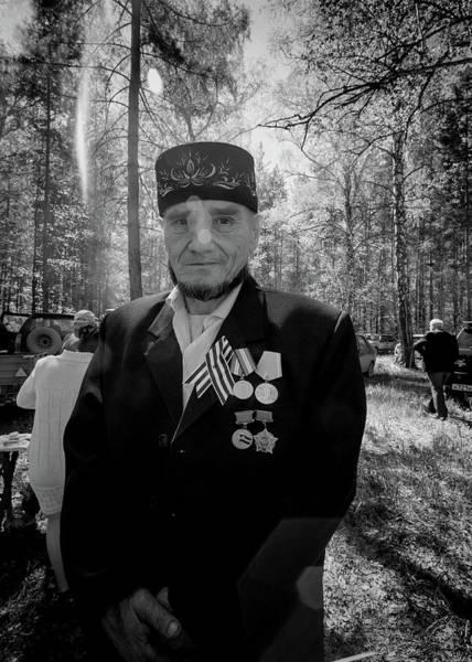 Photograph - Russian Afghanistan War Veteran by John Williams