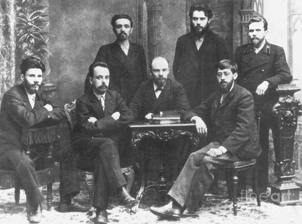 Photograph - Russian Marxists, 1897 by Granger