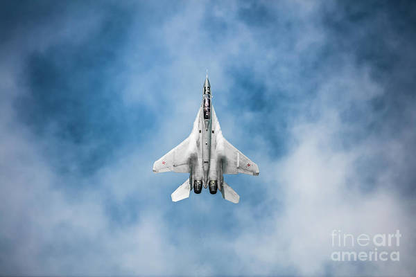 Fighter Jets Photograph - Russian Mig-35 Fulcrum 4 by Rastislav Margus