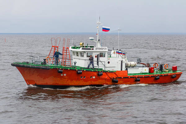 Photograph - Russian Pilot Boat by Clare Bambers