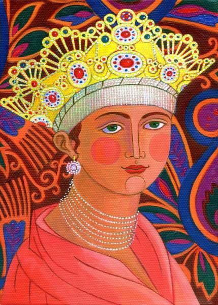 Wall Art - Painting - Russian Princess by Jane Tattersfield
