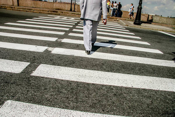 Photograph - Russian Street Crossing by KG Thienemann