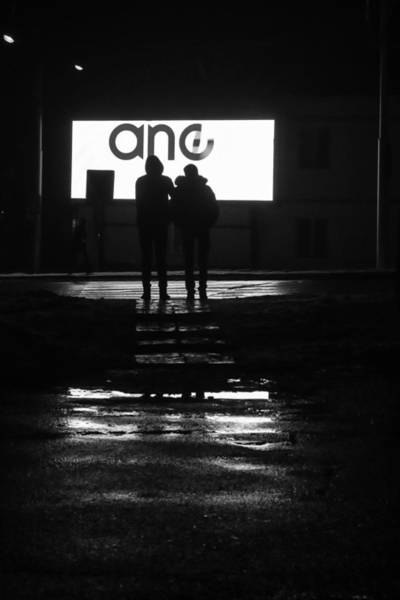 Photograph - Russian Street Scene At Night November 2015 by John Williams