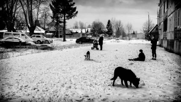 Photograph - Urban Life Russia by John Williams