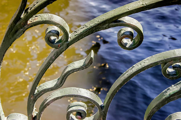 Photograph - Russian Wrought Iron by KG Thienemann