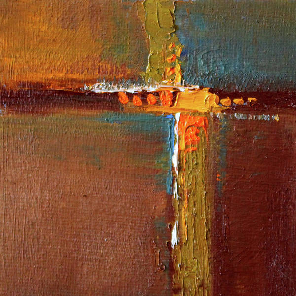 Wall Art - Painting - Rust Abstract Painting by Nancy Merkle