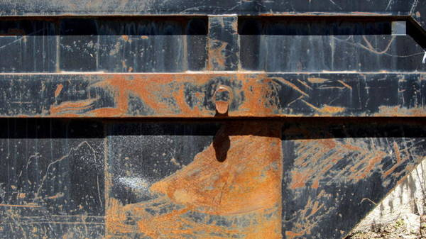 Photograph - Rust And Black 1 by Anita Burgermeister