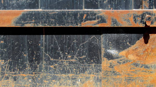 Photograph - Rust And Black 2 by Anita Burgermeister