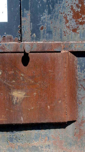 Photograph - Rust And Blue 3 by Anita Burgermeister