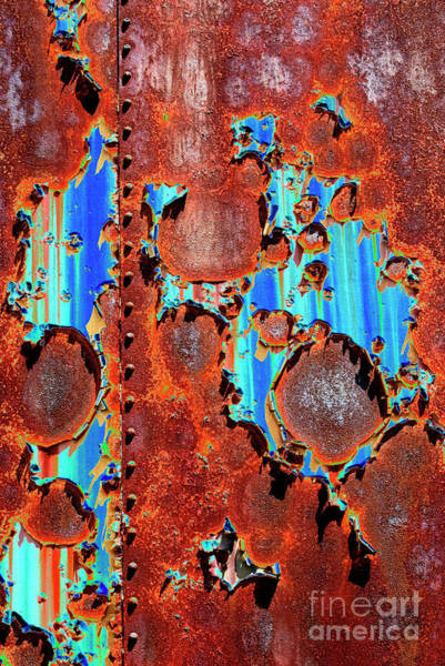 Solarized Photograph - Rust And Paint - Se by Paul W Faust -  Impressions of Light