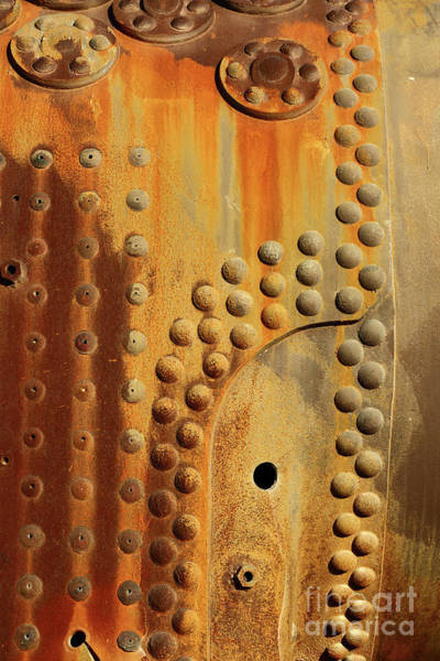 Photograph - Rust And Rivets Vertical by James Brunker