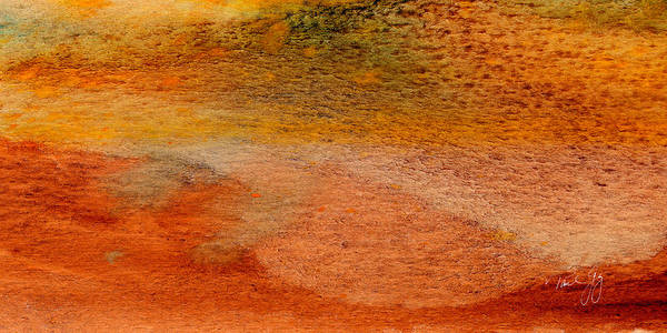 Mixed Media - Rust And Sand 3 by Paul Gaj