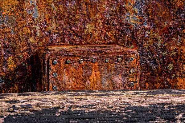 Photograph - Rust Block by Bill Posner