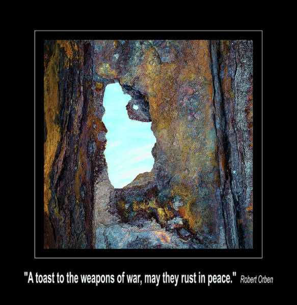 Photograph - Rust In Peace by Rick Mosher