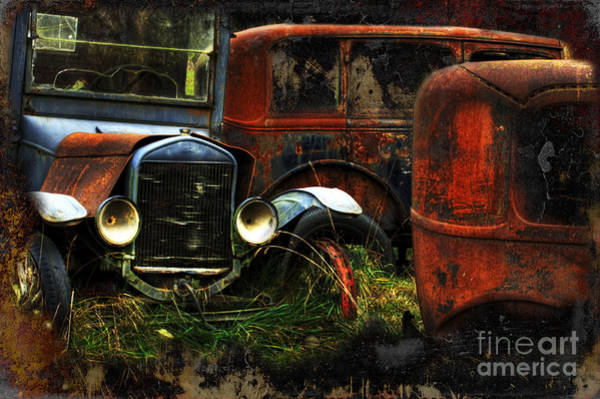 Beyond Repair Photograph - Rust Never Sleeps by Bob Christopher
