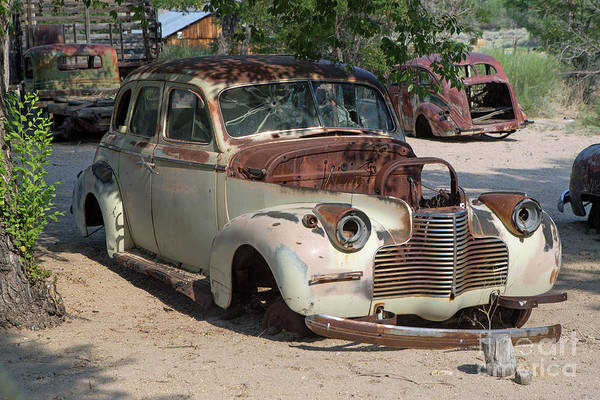 Wall Art - Photograph - Rusted 1940 Chevrolet  by Rick Mann