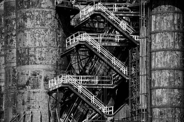 Photograph - Rusted Bethlehem Steel Mill by Bill Cannon