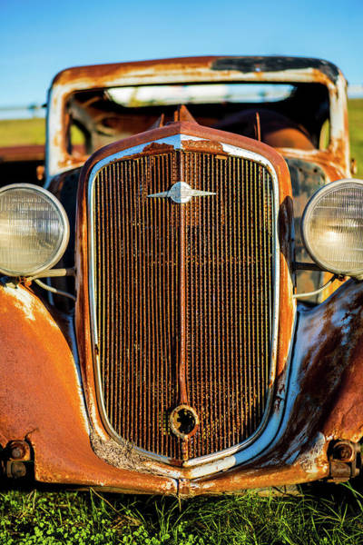 Rusted Chevrolet Art Print