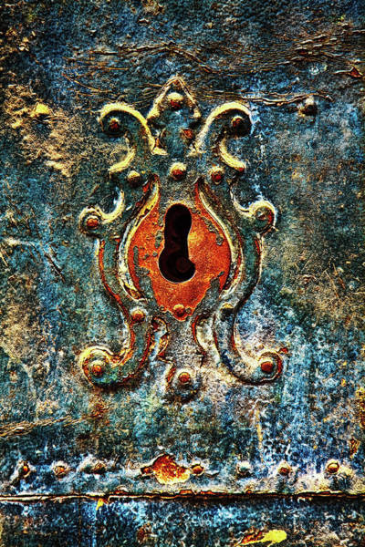 Photograph - Rusted Door Keyhole In Spain by Tatiana Travelways