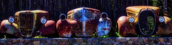 Junker Wall Art - Photograph - Rusted Out Old Cars by Garry Gay
