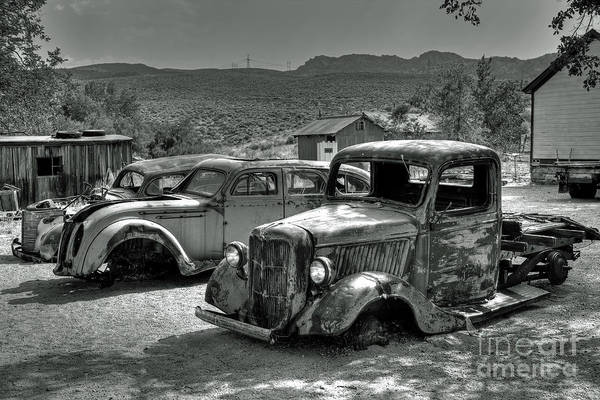 Wall Art - Photograph - Rusted Relics by Rick Mann