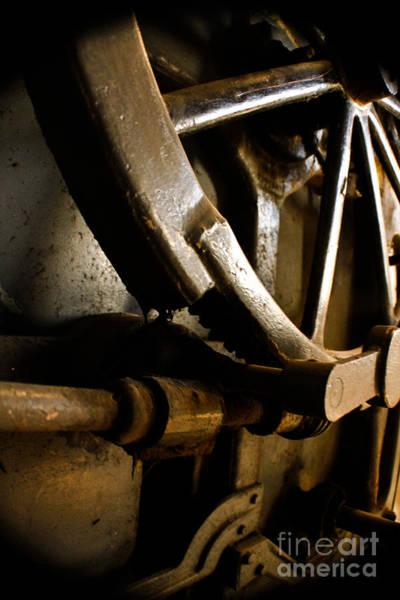 Loftus Photograph - Rusted Wheel by Joel Loftus
