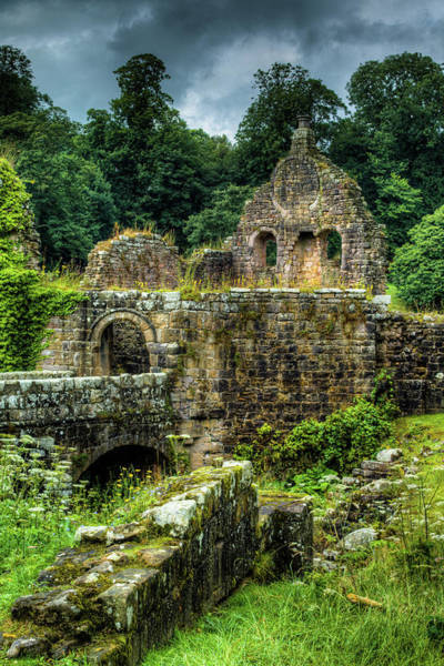 Photograph - Rustic Abbey Remains by Dennis Dame