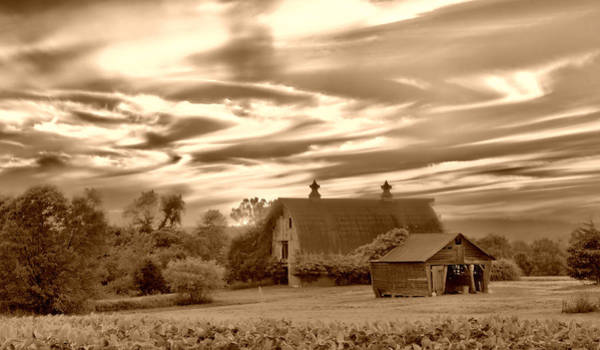 Photograph - Rustic Barn by Mark Fuller
