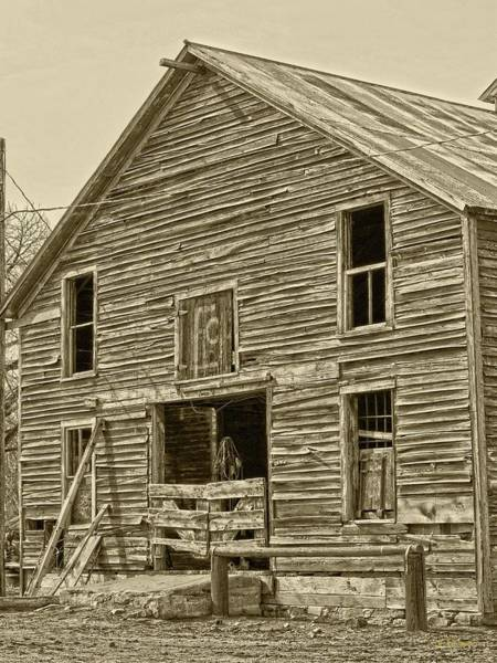 Photograph - Rustic Barn Of Old by Amanda Smith