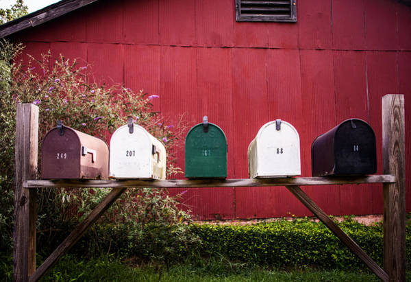Mailbox Photograph - Rustic Beauty by Parker Cunningham