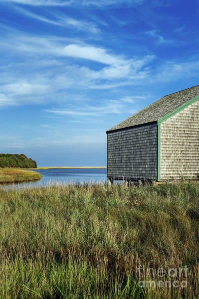 Wall Art - Photograph - Rustic Boathouse by John Greim