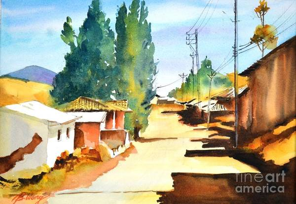 Painting - Rustic Charm by Betty M M Wong