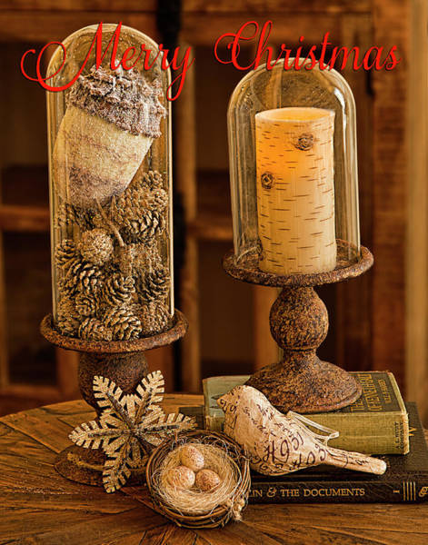 Photograph - Rustic Christmas Card by Patricia Montgomery