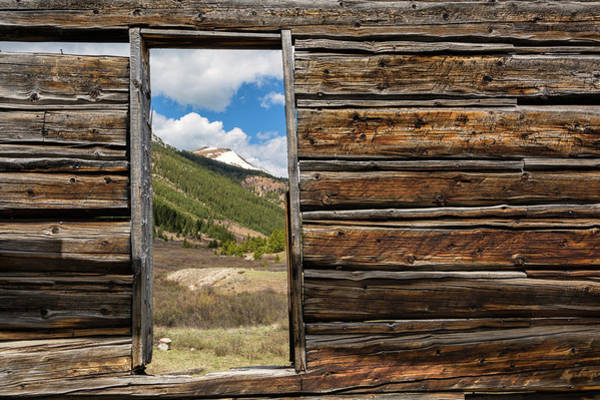 Photograph - Rustic Framing by Denise Bush