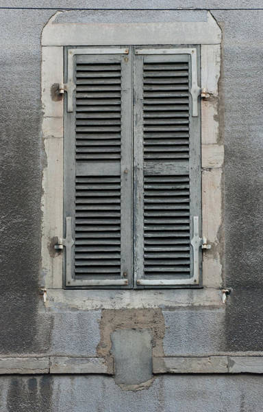 Photograph - Rustic French Window Shutters Vignette 2 by Jani Freimann