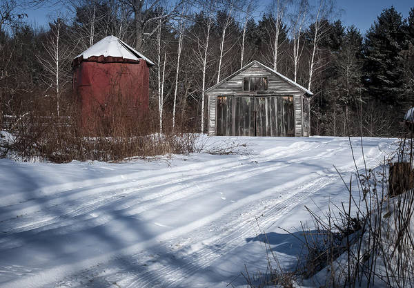 Photograph - Rustic Garage by Rick Mosher
