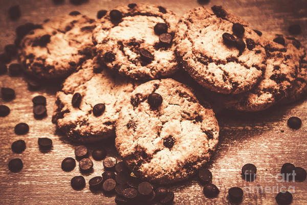 Dessert Photograph - Rustic Kitchen Cookie Art by Jorgo Photography - Wall Art Gallery