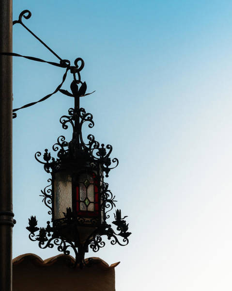 Photograph - Rustic Lamp Post by Alexandre Rotenberg