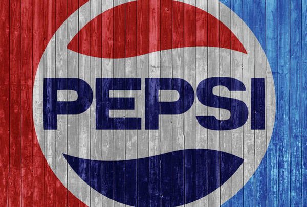 Wall Art - Mixed Media - Rustic Pepsi Logo by Dan Sproul