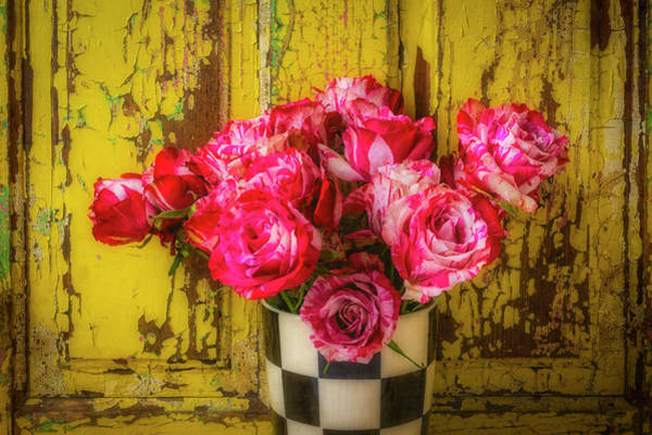 Wall Art - Photograph - Rustic Roses Still Life by Garry Gay