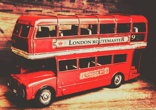 English Photograph - Rustic Routemaster by Jorgo Photography - Wall Art Gallery