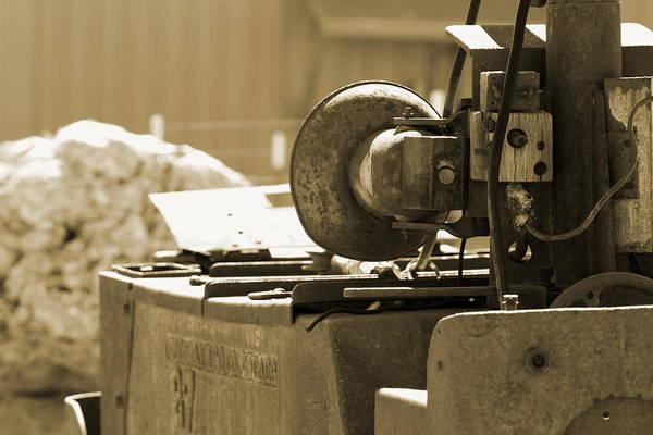 Photograph - Rustic Silver Mine Equipment In Sepia by Colleen Cornelius