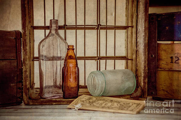 Photograph - Rustic Still Life 3 by Teresa Wilson