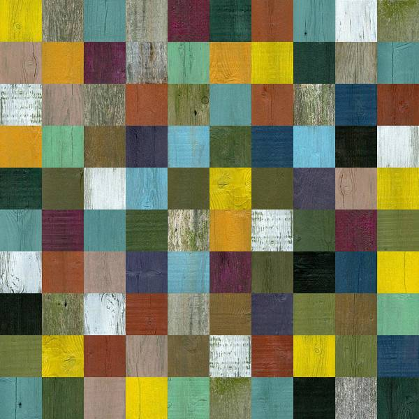 Painting - Rustic Wooden Abstract 100 by Michelle Calkins