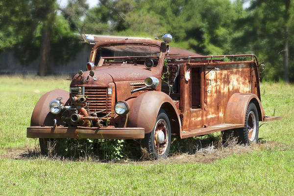 Truck Digital Art - Rusting Away 2 by Mike McGlothlen