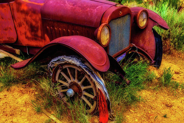 Wall Art - Photograph - Rusting Away by Garry Gay