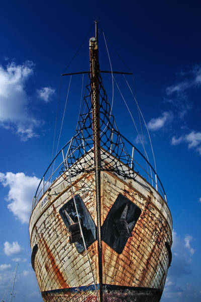 Wall Art - Photograph - Rusting Boat by Stelios Kleanthous
